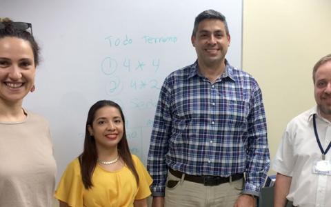 Meeting with AyA in San José